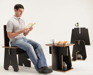 Image of Alphabet Furniture - Chair