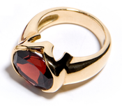 Image of Garnet Ring