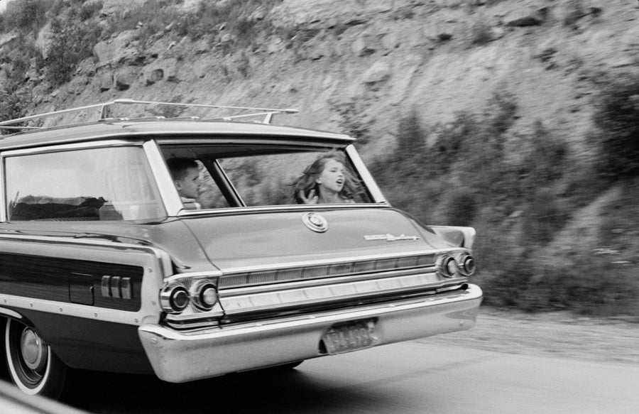 Image of Riding In The Back Of Dad's Station Wagon