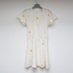 Image of Pop Dress Handprinted