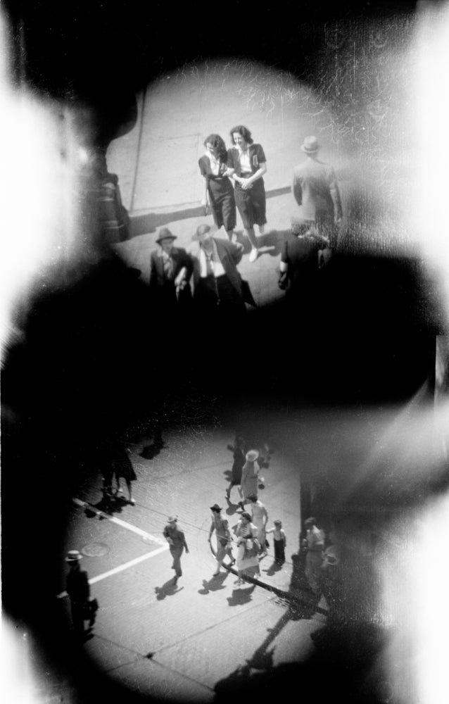 Image of Spying Through A Telescope: 1938