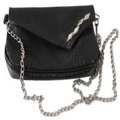 Image of Black/Silver PD Purse/Clutch/Fanny