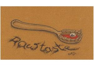 Image of Synesthesia Giclee Print #3: gustaoception // taste