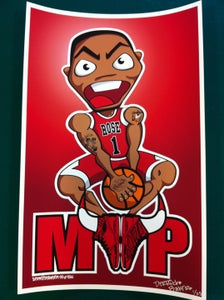 Image of Derrick Rose MVP