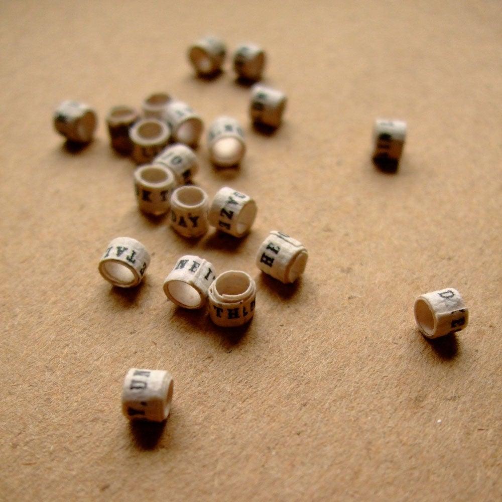 F i e l d s e a handmade story beads for jewelry making for Unique stones for jewelry making