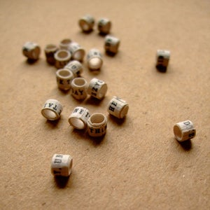 Image of Handmade Story Beads for Jewelry Making