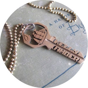 Image of KEY NECKLACE /// CUSTOM