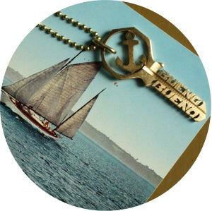 Image of KEY NECKLACES /// MY ANCHOR