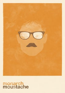 Image of monarch moustache