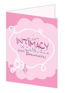 Image of Intimacy
