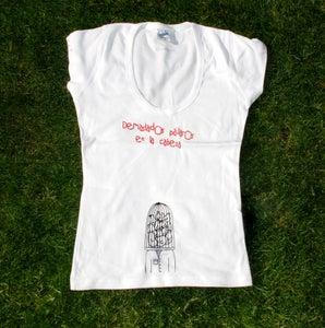 """Image of Camiseta """"Pájaros en la Cabeza"""""""