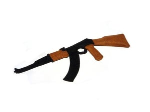 Image of AK-47 Organic Catnip CAT TOY Handmade by Oh Boy Cat Toy