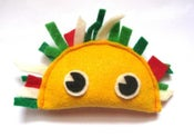 Image of Taco Organic Catnip CAT TOY Handmade by Oh Boy Cat Toy