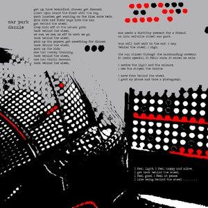 Image of 'Car Park Dazzle'  (Digital print on cotton twill)