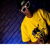 Image of Pure Flowz Apparel Male - Yellow Tee - Black Design: