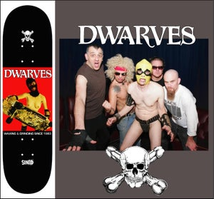 """Image of The Dwarves """"Young and Good Looking"""" Skateboard"""