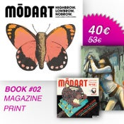 Image of Modart Book #02 + Modart Magazine + Modart Print
