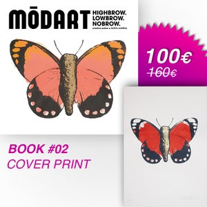 Image of Modart Book #02 + Silkscreen print