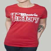 Image of Womens Philly Red Tee