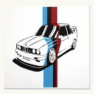 Image of BMW E30 M3 - M Colors