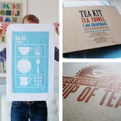 Image of Tea Kit – Tea Towel (b-stock)