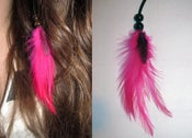 Image of Hot Pink Hair Feather