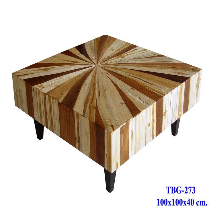 Thai Slab Furniture Mixed Wood Coffee Table Custom Sizes  : TBG 273 from thaislabfurniture.bigcartel.com size 1000 x 1000 jpeg 101kB