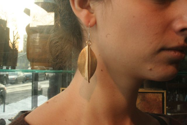 Image of Leaf earrings