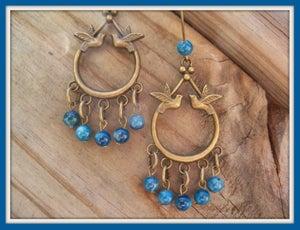 Image of BlueBird of Happyness Earrings