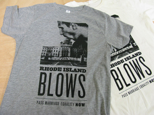 Image of Rhode Island Blows Tee