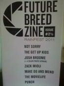 Image of Future Breed Zine - Rainfest 2011