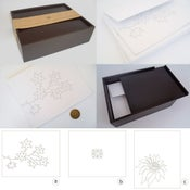 Image of INVITATION CARDS IN A BOX | TARJETAS DE INVITACIÓN EN CAJA