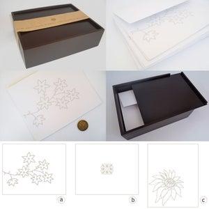 Image of INVITATION CARDS IN A BOX | TARJETAS DE INVITACIÓN EN CAJA