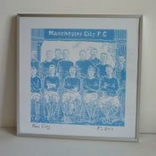 Image of Man City print