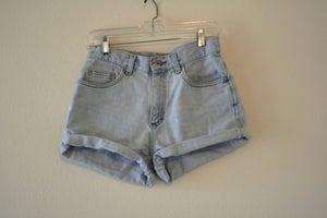 Image of High Waisted Denim Shorts