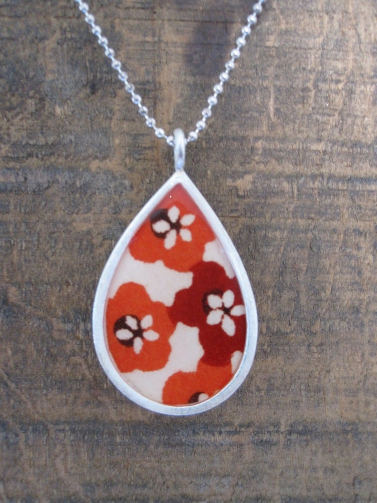 Image of Large Teardrop Necklace
