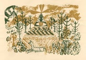 Image of Temple Screen Print