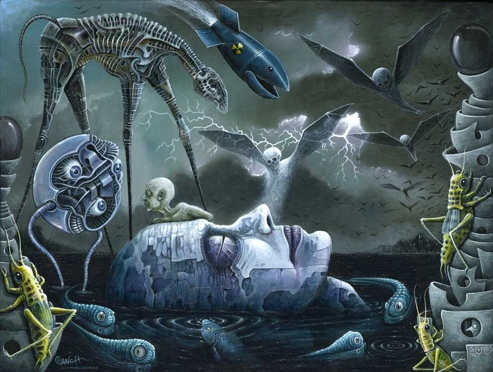 """Image of DREAMS and NIGHTMARES ~ 18 x 24"""" Open Signed Edition"""