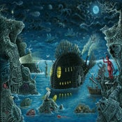 "Image of ""NIGHT TRAWLER""   Special Large Signed Edition"