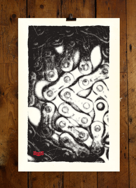 Image of CHAIN REACTOR - LTD EDITION PRINT