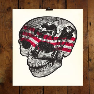 Image of SKULL VELO - LTD EDITION PRINT