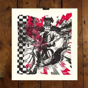 Image of BONE RIDER - LTD EDITION PRINT