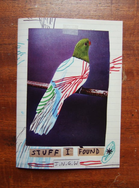 Image of 'Stuff I Found (On My Desk)' Zine