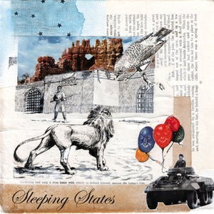 """Image of Sleeping States 7"""" 'Rivers / London Fields'"""