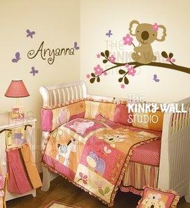 Image of Koala Bear Wall Sticker Decal Nursery Kids Room Baby KK112