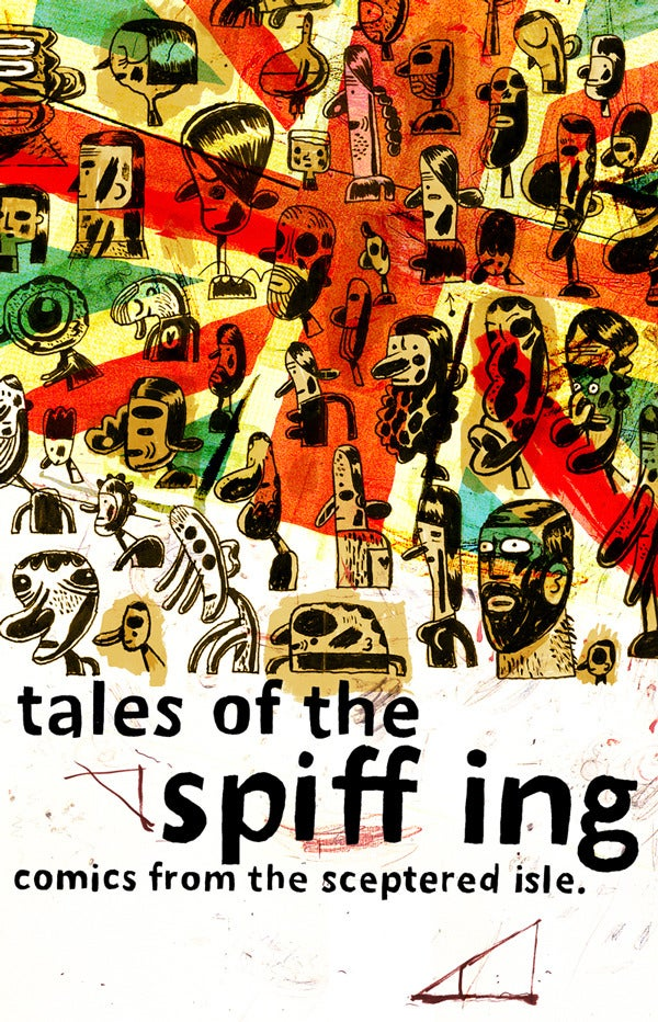 Image of Tales of the Spiffing: Comics from the Sceptered Isle