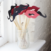 Image of Lips and Mustache Kit