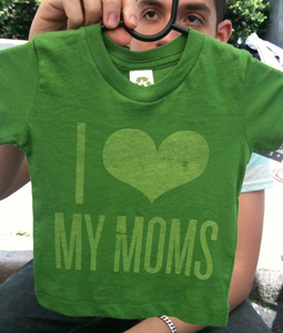 Image of I Love My Moms (Kids Tee)