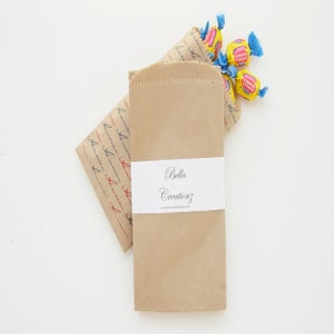 Image of Small Brown Kraft Bags