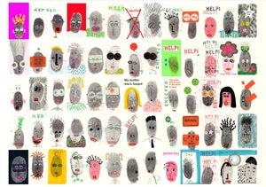 Image of Finger Print Sticker Book
